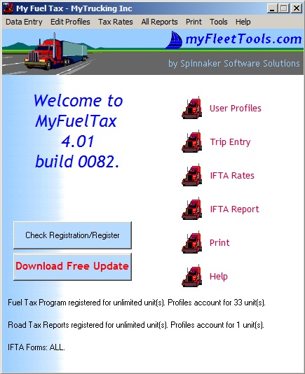 IFTA Fuel Tax Software